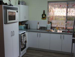 Tenants Enjoying Their Kitchen Upgrades Foundation Housing