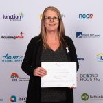 Staff member recognised for her outstanding achievement